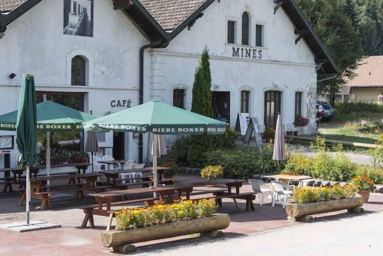 1. August-Brunch im Café des Mines d'asphalte