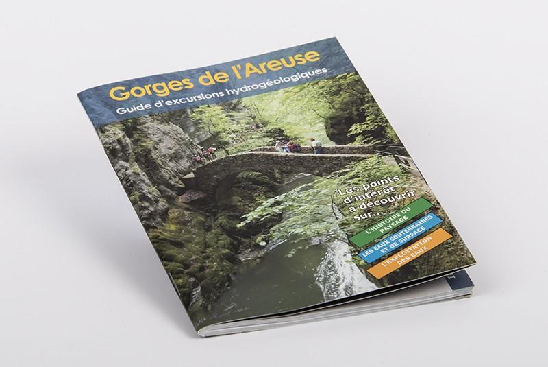 Gorges de l'Areuse : guide d'excursions hydrogéologiques