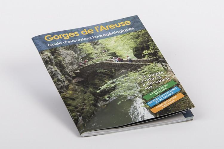 Gorges de l'Areuse : hydrogeologischer Führer | Französisch