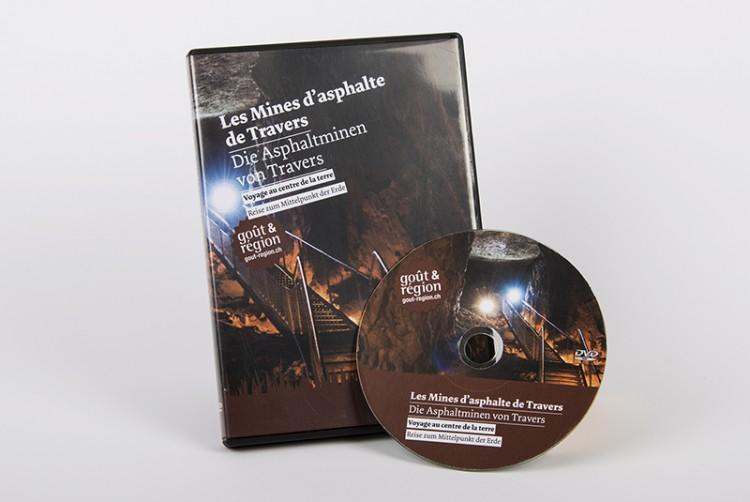 DVD   Les Mines d'asphalte de Travers: voyage au centre de la terre