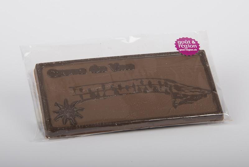 Schokoladentafel vom Creux du Van