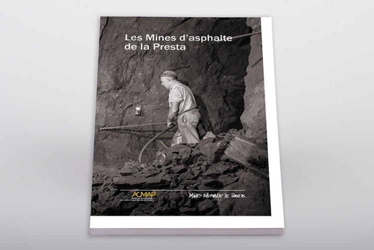"Livre ""Les Mines d'asphalte de la Presta"""