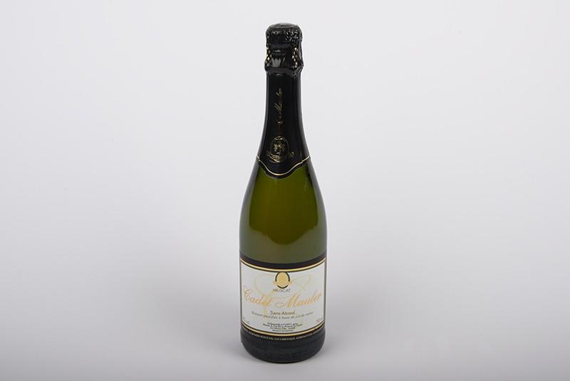 Alkoholfreier Schaumwein von Mauler - Cadet Muscat Blanc sans alcool 75cl