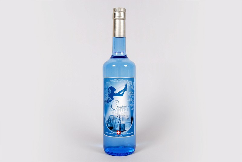 Absinth La Clandestine 70cl, Val-de-Travers