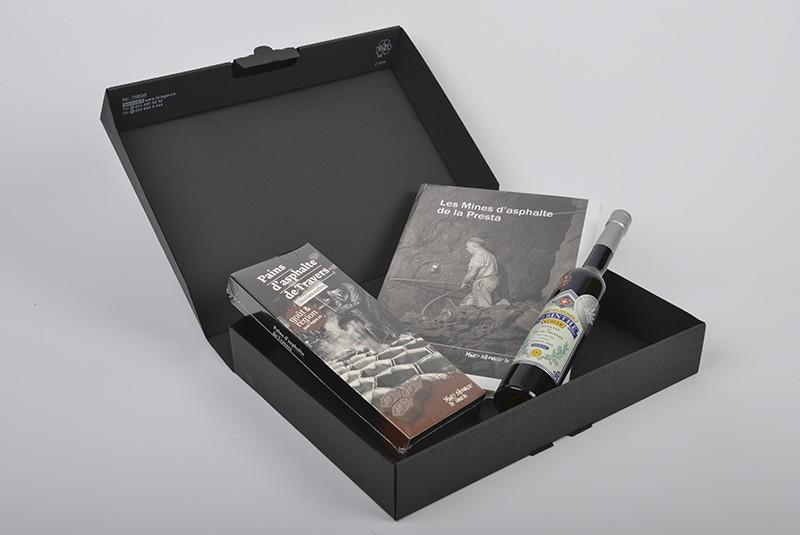 Asphaltminen-Schachtel