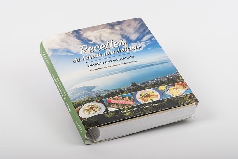 Kochbuch mit regionalen Rezepten für Neuenburger Gerichte