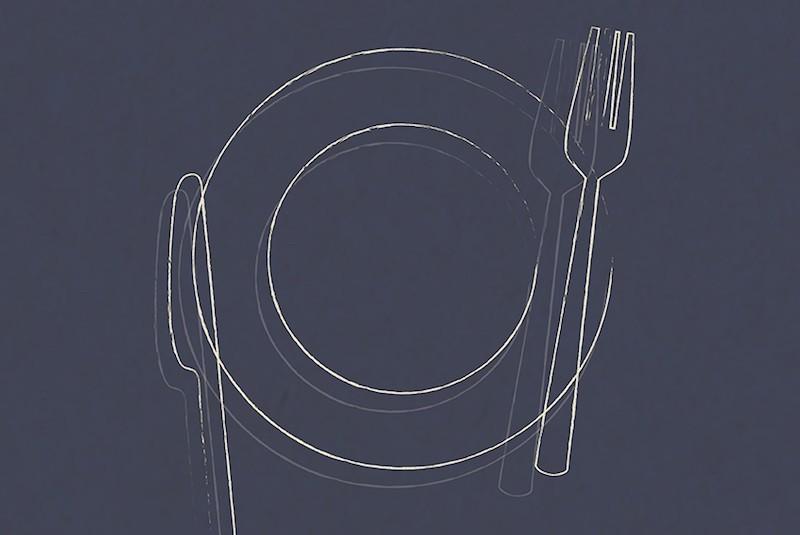 Repas dans le noir