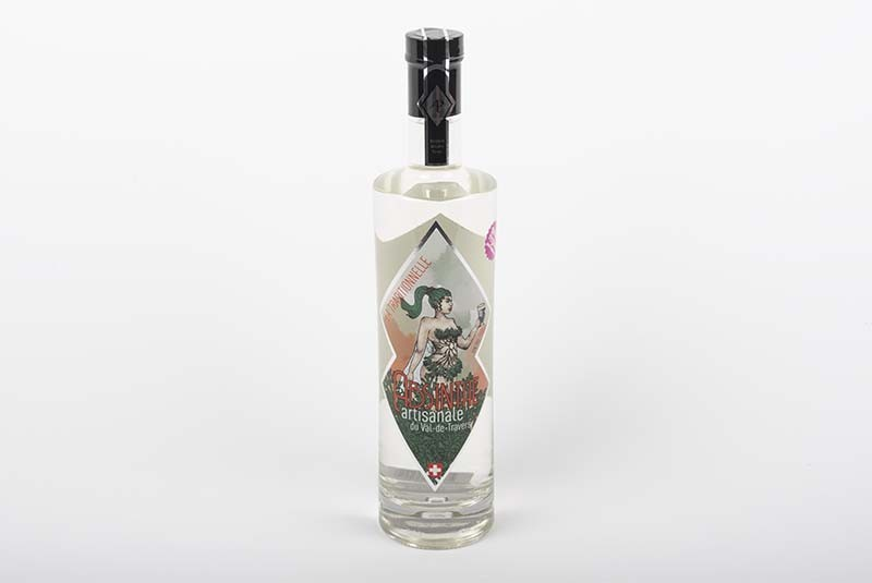 70cl Absinth La P'tite Traditionnelle  - Die kleine Traditionelle, Val-de-Travers