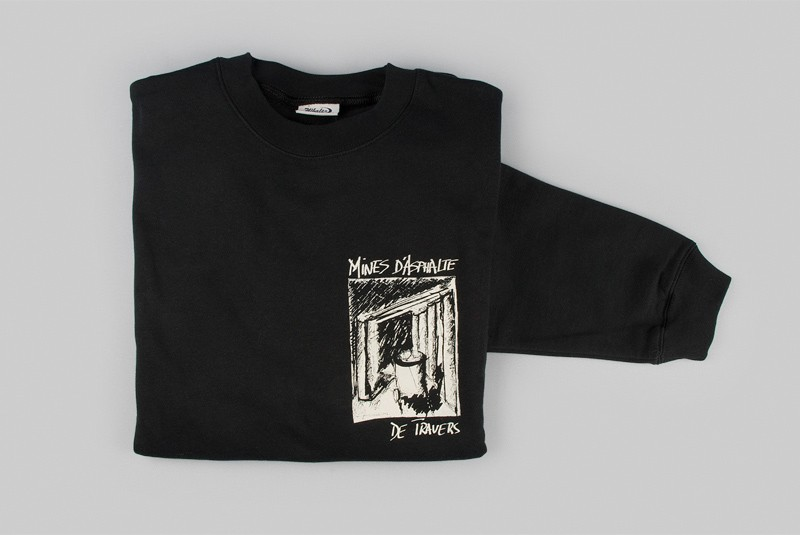 Pull-over des Mines d'asphalte   Taille XL