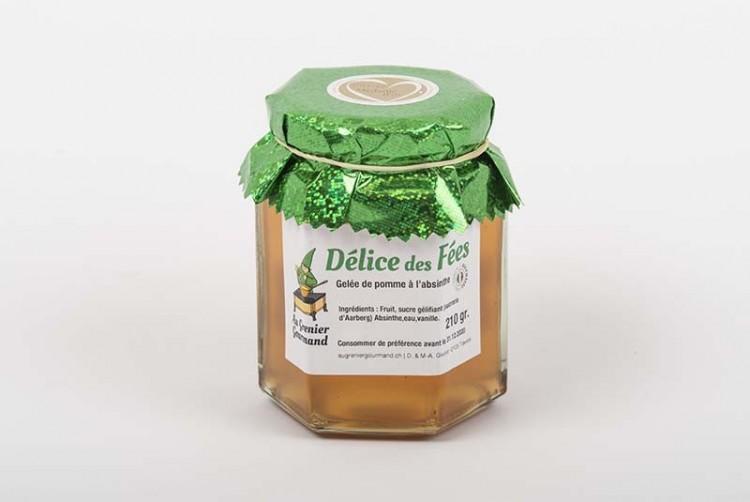 """Apfel-Gelee mit Absinth """"Délice des Fées"""""""