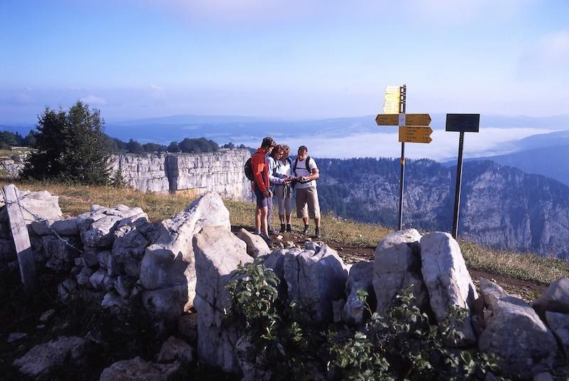 Wandern in Le Creux du Van | © Tourisme neuchâtelois