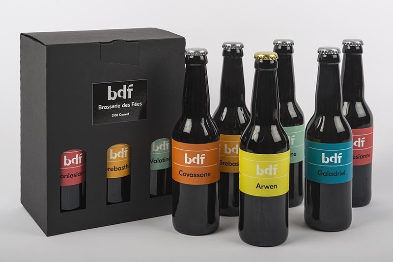 Pack de 6 bières BDF