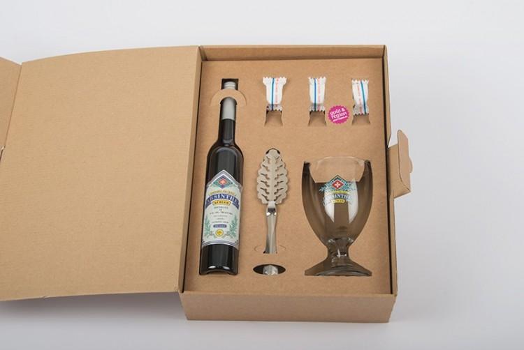 Coffret cadeau absinthe Kübler