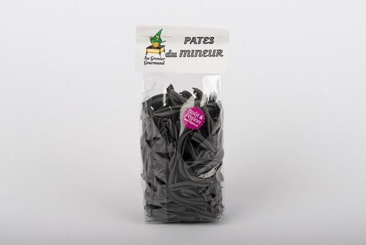 """Pâtes noires """"du Mineur"""""""