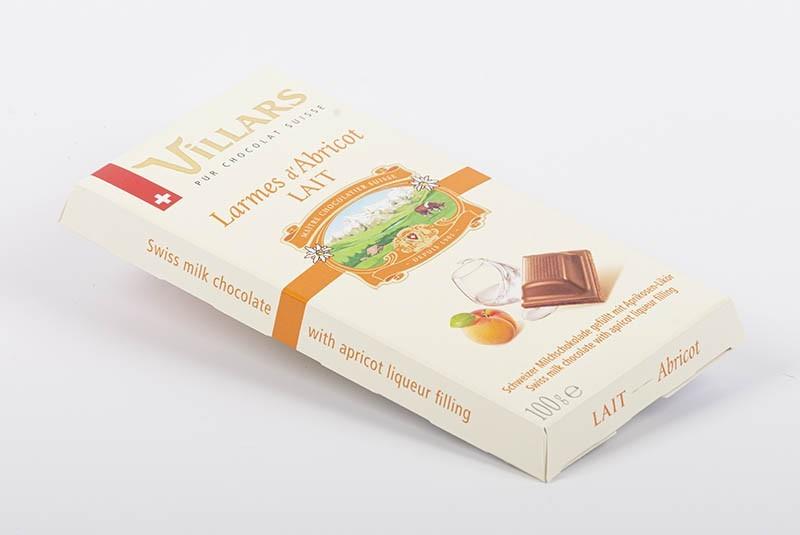 Plaque Villars | Larmes d'abricot
