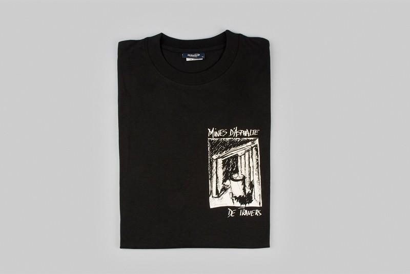 T-shirt des Mines d'asphalte