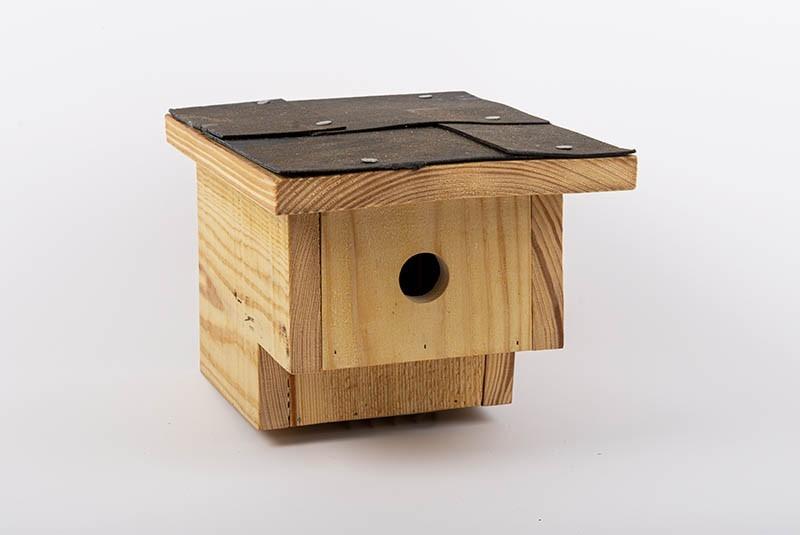 Nistkasten für höhlenbrütende Vögel | Premium