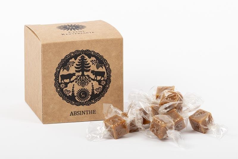 Absinth-Karamellbonbons