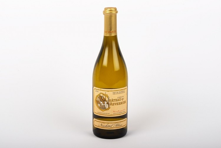 Vin blanc, Neuchâtel Blanc AOC, Château d'Auvernier