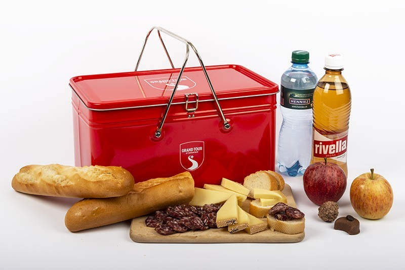 "Picknick Snack Box ""Grand Tour of Switzerland"" für 2 Personen"