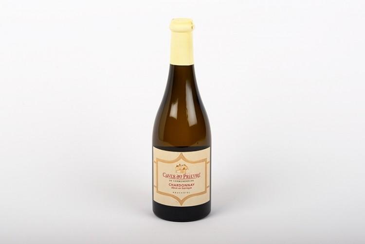 Vin blanc, Neufchatel, Chardonnay   Caves du Prieuré