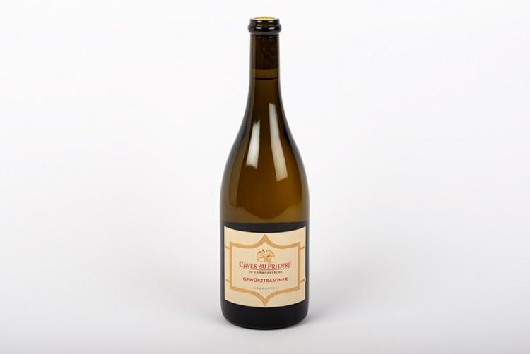 Vin blanc de Neufchatel, Gewürztraminer | Caves du Prieuré