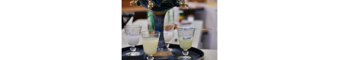 Accessoires du service de l'absinthe –à commander en ligne