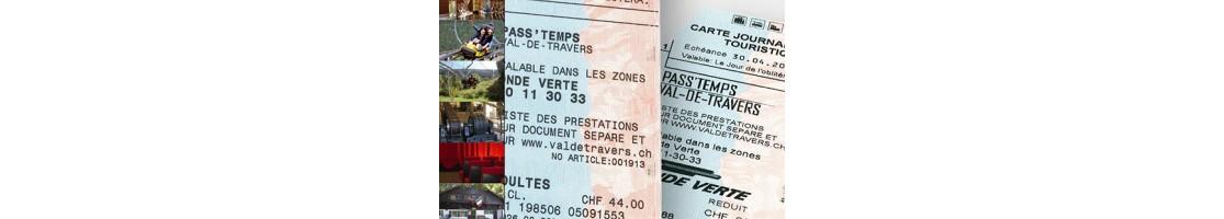 La carte Pass'temps du Val-de-Travers chez Goût & Région