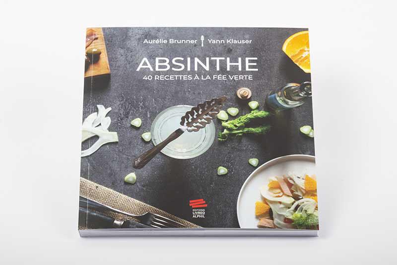 Absinthe: 40 recettes à la fée verte